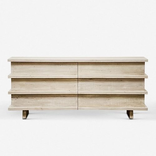Corliss 6-Drawer Dresser, White Wash