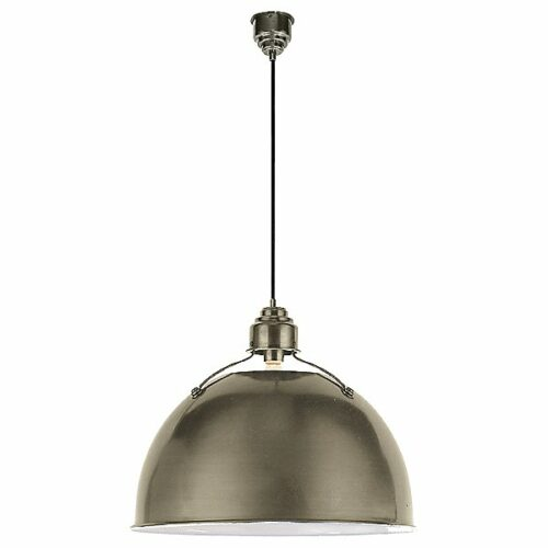 Eugene Pendant by Visual Comfort - Color: Silver - Finish: Antique Nickel - (TOB 5000AN)
