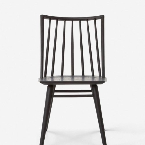 Lanae Dining Chair, Black Oak