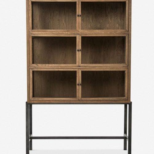 Marisa Curio Cabinet, Oak