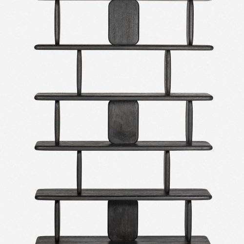Nera Bookcase, Black