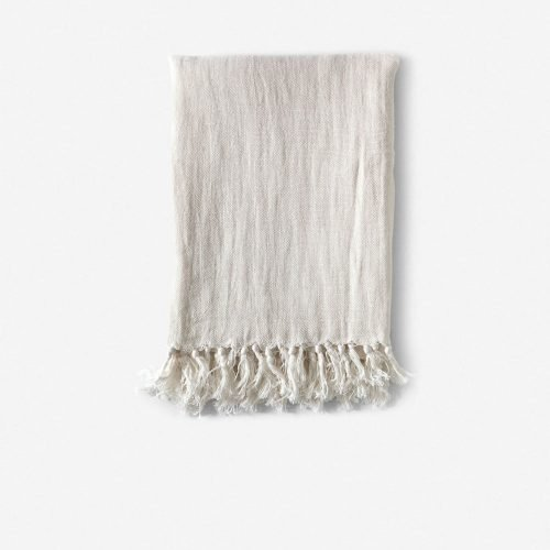 Pom Pom at Home Montauk Blanket, Cream